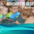 La actividad acuática en los bebés mejora su desarrollo motor